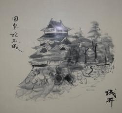信濃の国松本城